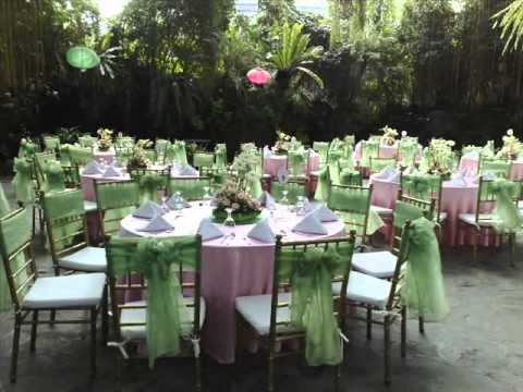 Juan Carlo the Caterer Set Up - YouTube