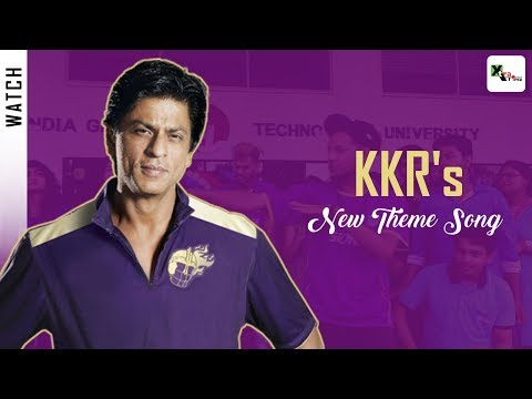 Must Watch: KKR gets a brand new Theme song! Even better than Korbo Lorbo Jeetbo? | IPL 2018 | SRK