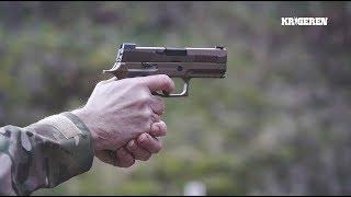Forsvarets nye pistol Sig P320