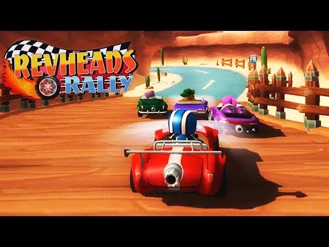 Rev Heads Rally Gameplay | Fun Racing Game (iOS, Android)