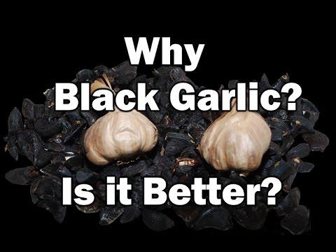 BLACK GARLIC Benefit cancer fighting foods natural medicine organic cuisine health unique vegetarian