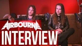 AIRBOURNE exklusives Interview || METAL HAMMER