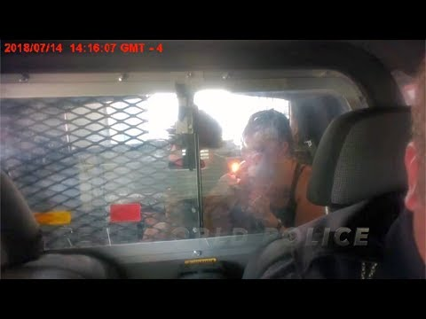 "[FULL] Officer Suspended for Allowing Arrested Couple to Smoke and ""Make Babies"" in Police Cruiser"