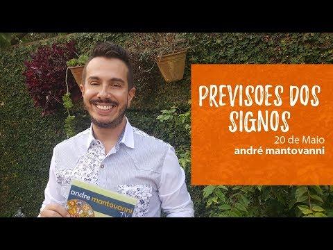Previsões dos Signos- André Mantovanni 20/5