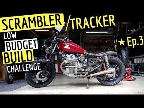 How to Build a ★ Scrambler on a Budget Challenge Ep. 3 - Honda CX500 Street Scrambler  Tracker Build