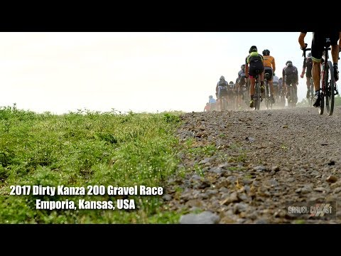 2017 Dirty Kanza 200 Gravel Race - Emporia, Kansas, USA