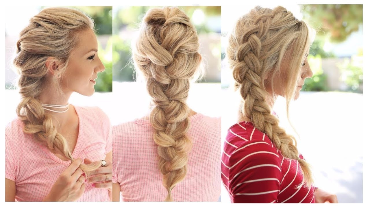 Cute Hair Styles With Braids: Latest Party Hairstyles For Stylish Girls 2017-2018