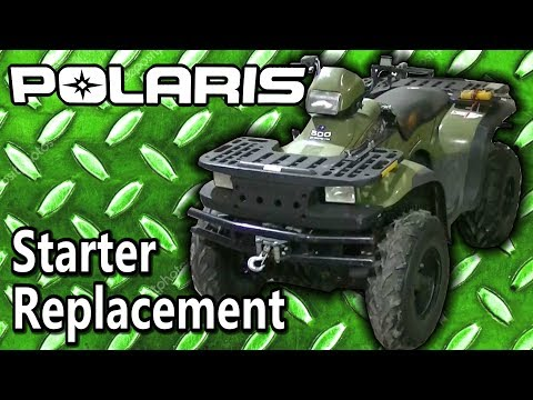 Polaris Sportsman 500 ATV Starter Replacement