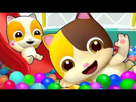 楽しい遊園地★ねこちゃんと遊ぼう | 子ども向け安全教育 | 赤ちゃんが喜ぶ歌 | 子供の歌 | 童謡 | アニメ | 動画 | ベビーバス| BabyBus