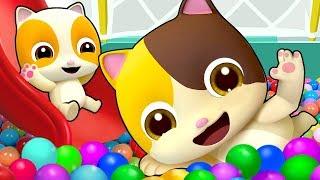 I Love Indoor Playground | Colors Song, Baby Shark | Nursery Rhymes | Kids Songs | BabyBus