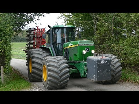 John Deere 4755 Gets The Job Done w/ 6-Meter Horsch Cruiser & HUGE Tires | DK Agriculture