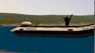 boat dog ANIMATED