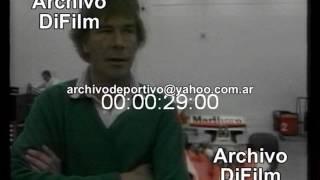 Muerte del Piloto James Hunt - DiFilm (1993)