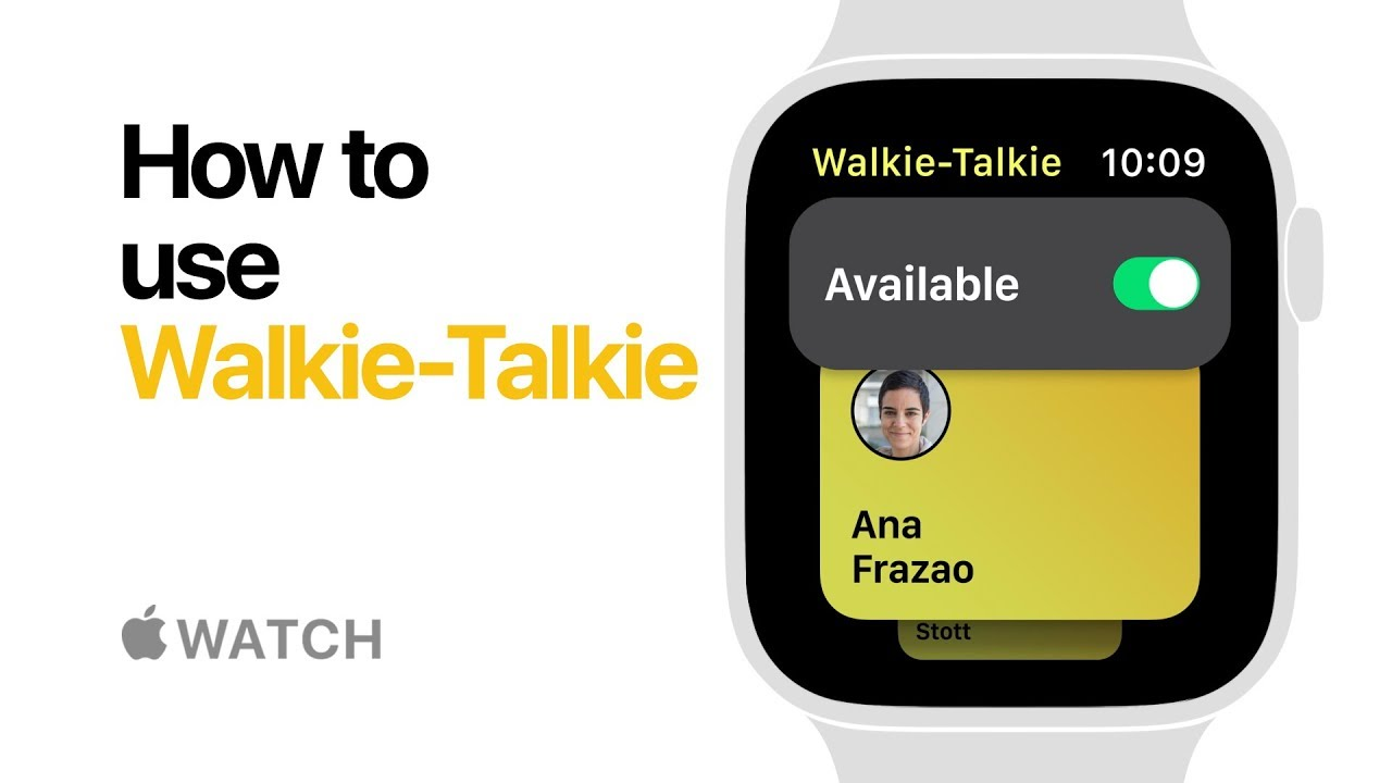 How to get walkie talkie app on apple watch series 4