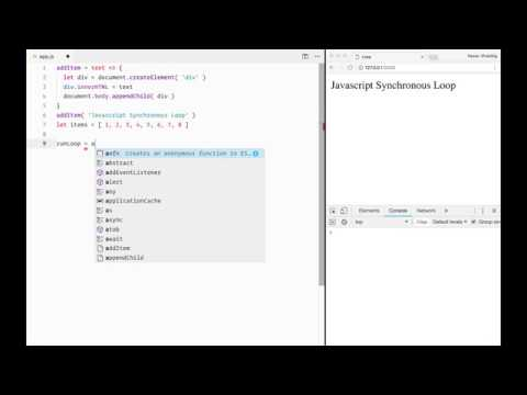 Synchronous loop in javascript using async/await and promise