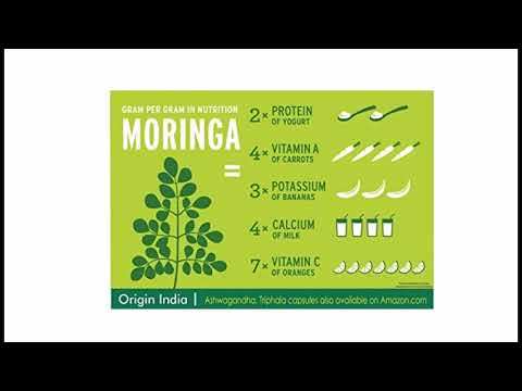 RIGIN INDIA Moringa Capsules, 90 Veggie 1000 Mg Pure Moringa Extract Capsules, Natural way to supp
