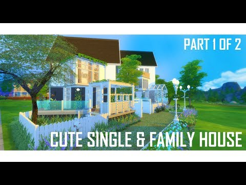 THE SIMS 4 | Cute Single and Family Houses | BUILD | (1/2)