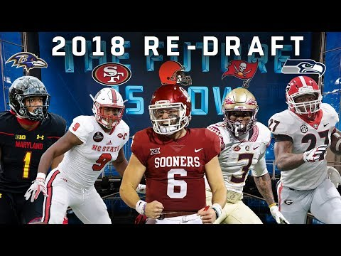 Re-Drafting the 2018 Rookie Class! | NFL Throwback