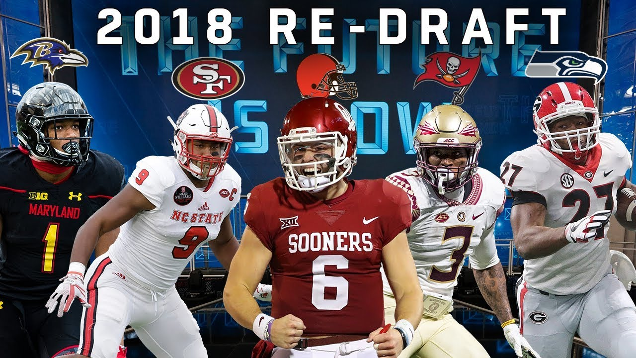 online store 3aafa 632aa Re-Drafting the 2018 Rookie Class!   NFL Throwback