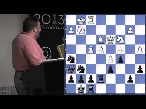 Block Center Positions - GM Ben Finegold - 2013.07.11