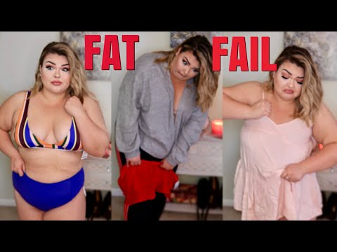 PLUS SIZE GIRL TRIES WEARING URBAN OUTFITTERS