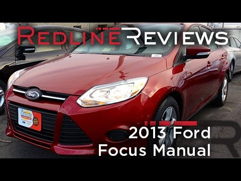 2013 Ford Focus Manual Review, Walkaround, Exhaust, Test Drive