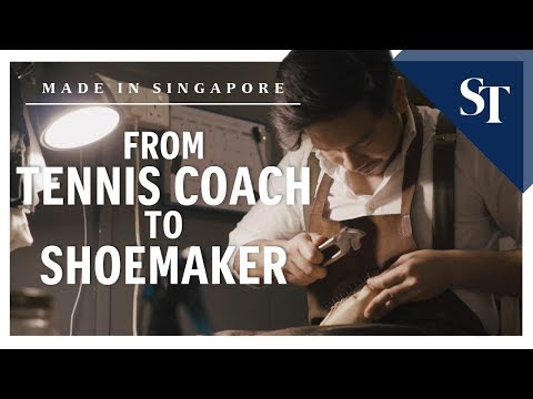 From tennis coach to shoemaker | Made in Singapore | The Straits Times