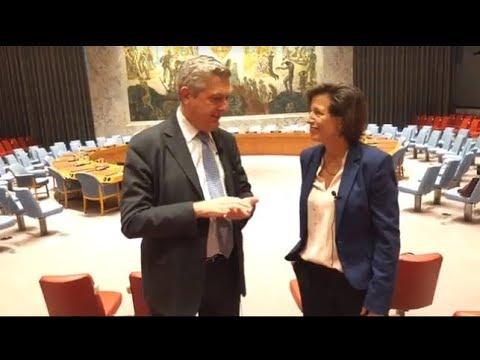 UNHCR Filippo Grandi - Melissa Fleming