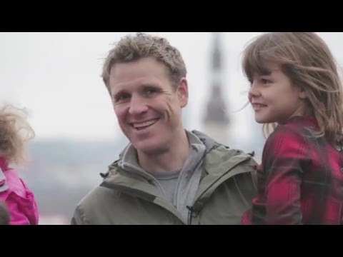 Tallinn, Estonia with James Cracknell and family (58sec)