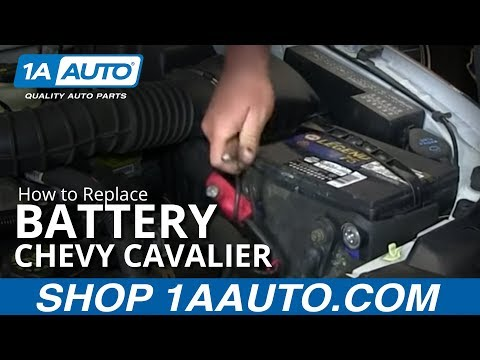 how to replace battery 95 05 chevy cavalier youtube how to replace battery 95 05 chevy cavalier