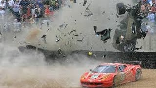 TOP 5 TERRIFYING FATAL RACE CAR CRASHES