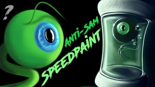 Anti-Sam| SPEEDPAINT| 3000 SUBSCRIBERS