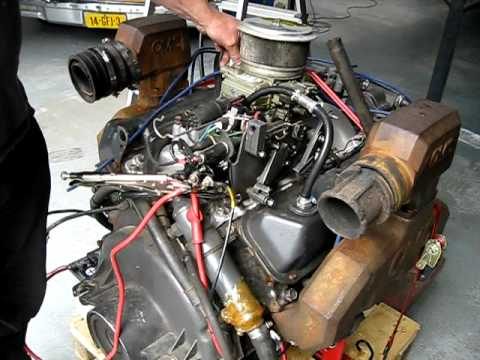 Ford 3 0 Engine Diagrams Omc 460 King Cobra From A Four Winns 261 Liberator Youtube