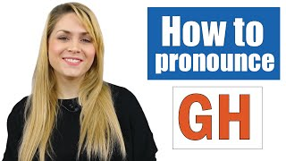 Learn how to pronounce GH sound | English Pronunciation Lesson | Hard G, Silent 'GH'