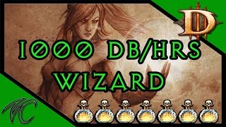 diablo 3 1000 deaths breath per hour wizard build 2 4 3 gameplay commentary