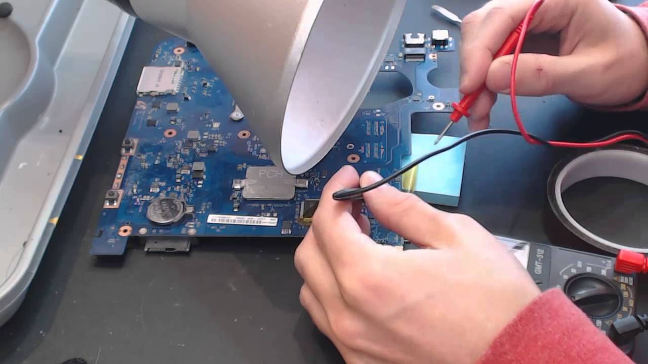 how to repair laptop motherboard no power pdf