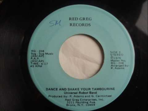 Universal Robot Band  Dance and Shake Your Tambourine  1976