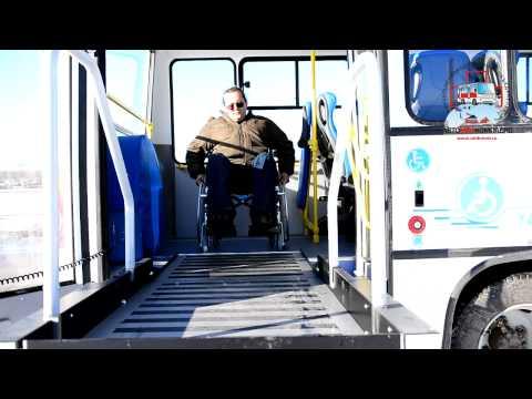 Автобус для перевозки инвалидов ВМК 3044