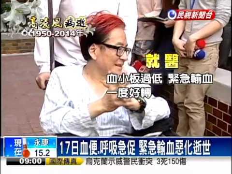 高凌風血癌病逝 享壽63歲-民視新聞 - YouTube