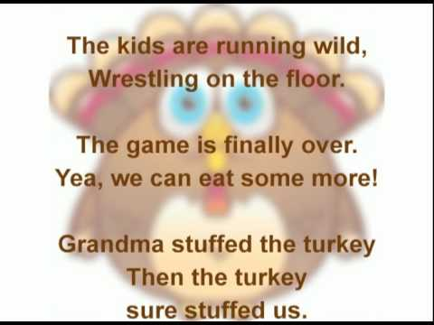 Family Thanksgiving Turkey Song - Ron Euliano (with Lyrics)
