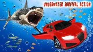 Underwater Flying Car Survival (By  Grace Gaming Studio) Android Gameplay HD