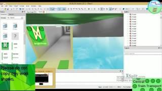 Bâtiment CTT 6.0 sur ROBLOX (Broadcast 8)