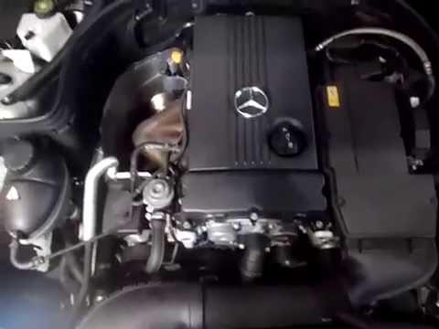 M18722 C200K M271.950 4CYL 1.8S AUTO 2009 ENGINE TESTING