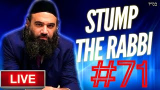STUMP THE RABBI (71) Bad People, MOVING, CHARISMA, Modern Orthodox Or HaRedi, BARREN, Biz w/Idolatry