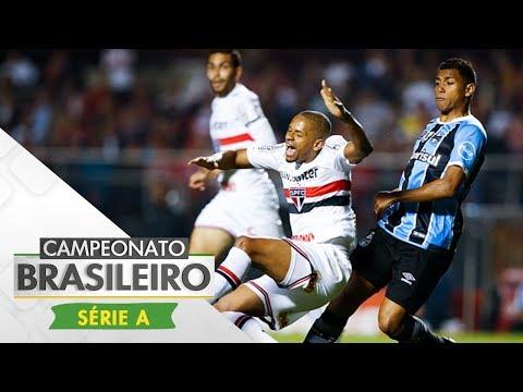 Melhores Momentos - São Paulo 1 x 1 Grêmio - Campeonato Brasileiro (24/07/2017)