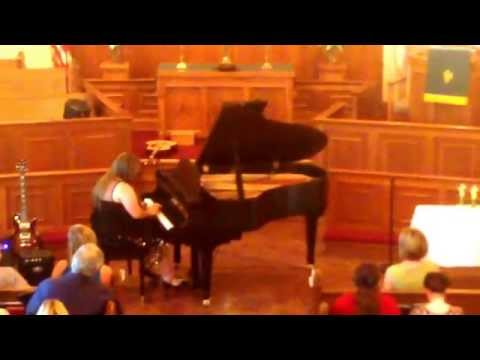 Northlake Academy of Music music recital 8/24/14 - Gabrielle