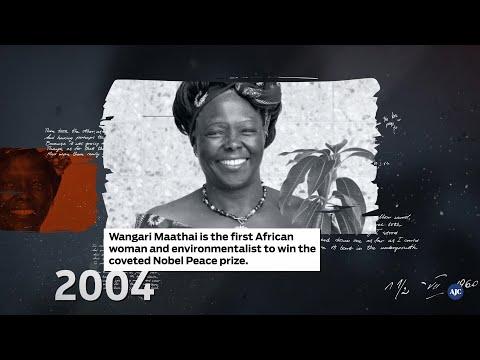 AJC Sepia Black History Moment | Wangari Maathai