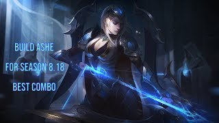 ASHE PROBUILDS SEASON 8 BEST COMBO AND TRICK