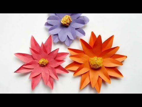How To Make Pretty Paper Daisies  - DIY Crafts Tutorial - Guidecentral