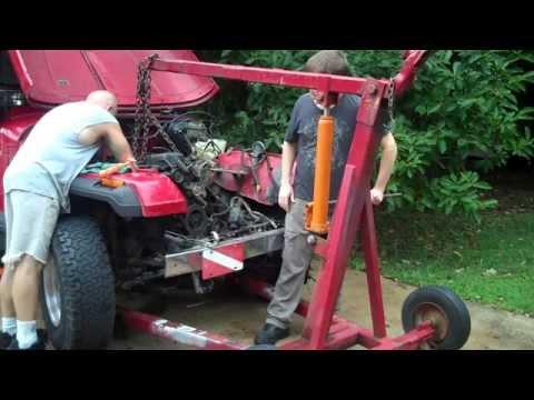 Jeep Wrangler YJ - Engine swap in process! Part 1